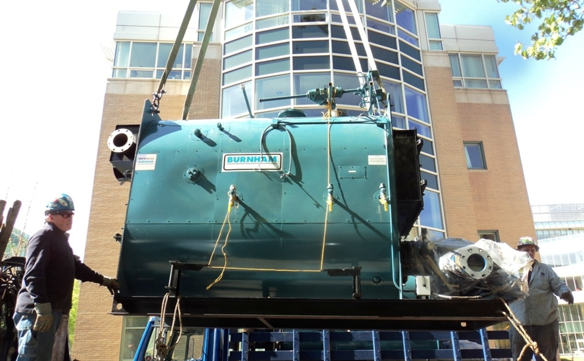 Simmons College Academic Campus Boiler Plant - TG Gallagher
